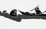 Hunting Walrus by Kayak